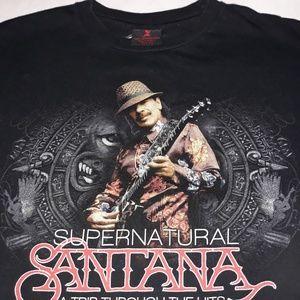Carlos Santana T shirt